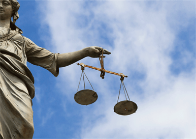 a statue of justice